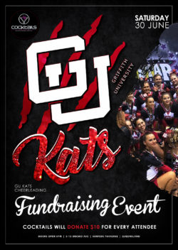 KATS – Fundraiser for Griffith Uni Cheerleaders