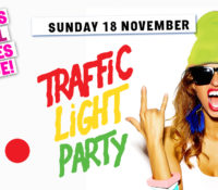 Schoolies Sunday 18 Nov – Traffic Light Party! 🚥 ALL AGES EVENT