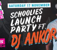 Schoolies Saturday 17 Nov – Launch Party!