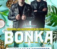 Schoolies Thursday 29 Nov – TBT with Bonka!