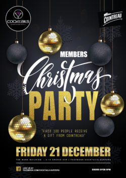 Christmas Members Party