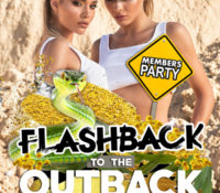 Flashback to the Outback! VIP Members Party