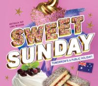 Sunday Sweetness for Australia Day Long Weekend