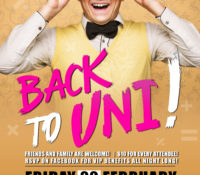 Back to Uni Party! ASGU Fundraiser
