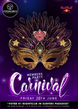 Carnival Members Party!