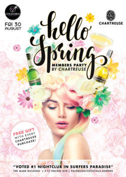 Hello Spring Members Party