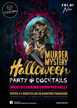 MURDER MYSTERY HALLOWEEN PARTY