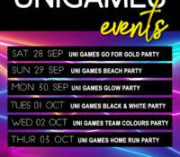 UNI GAMES @COCKTAILS