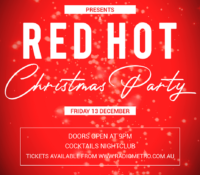 13 Dec – Radio Metro Red Hot Christmas Party