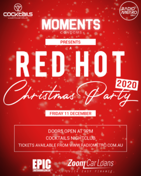 RED HOT CHRISTMAS PARTY