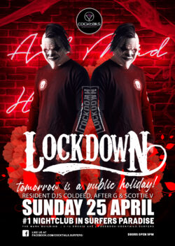 Anzac Weekend with LOCKDOWN!