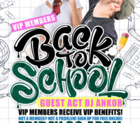Back to School VIP Members Party!