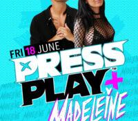 Press Play & Madeleine @ Cocktails!
