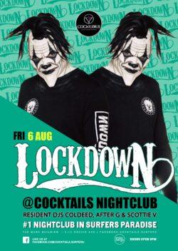 Lockdown at Cocktails!