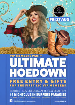 The Ultimate Hoedown – VIP Members Party