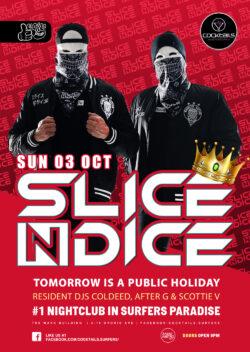 Slice N Dice @ Cocktails!