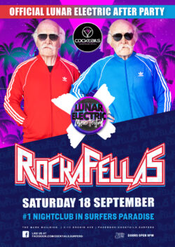 Rockafellas at Cocktails! OFFICIAL Lunar Electric After-Party!